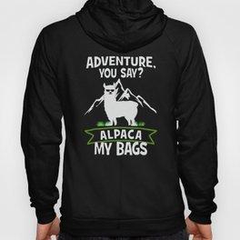 Alpaca My Bags  Travelling Hoody