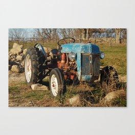 Stone Barns, Truck, NY Canvas Print