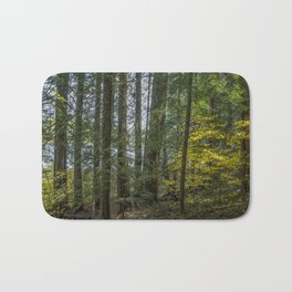 The Woods Around Clear Lake Bath Mat