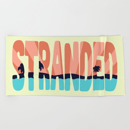 STR\NDED Beach Towel