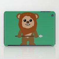 ewok iPad Cases featuring Ewok forever by Bonitismo