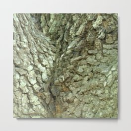 Tree Fork Camo Metal Print