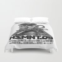 soviet Duvet Covers featuring KOSMONAUT 09 by Snark
