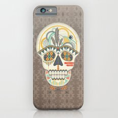 AZTEC SKULL B/W  Slim Case iPhone 6s