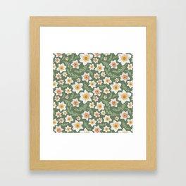 Dancing Daffodils Framed Art Print