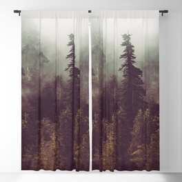 Weekend Escape - Forest Nature Photography Blackout Curtain