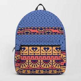 Vintage Art Nouveau Motif Pattern Backpack