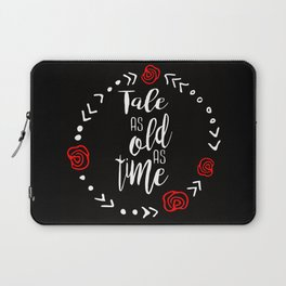 Beauty and the Beast: Tale as Old as Time Laptop Sleeve