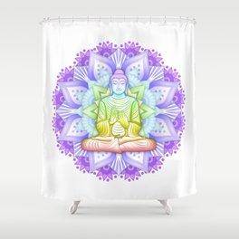 Color Mandala Shower Curtain