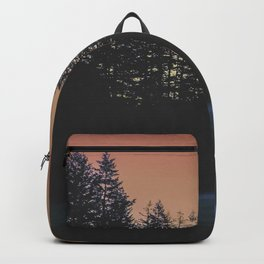 Eerie Orange Backpack
