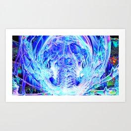 Digital Universe Art Print