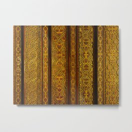 Looking up in the Alhambra Metal Print