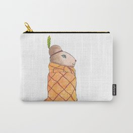 #018 - Chief Wompum Hamster Carry-All Pouch