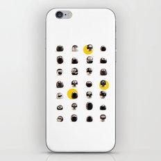 stoneheads 002 iPhone & iPod Skin