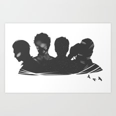 The Raven Boys Art Print