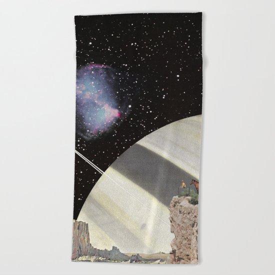 Space Cowboys Beach Towel