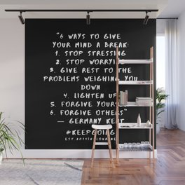 23 | Keep Going Quotes 190512 Wall Mural
