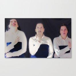 Tres Canvas Print