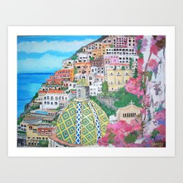 Positano, Italy Art Print