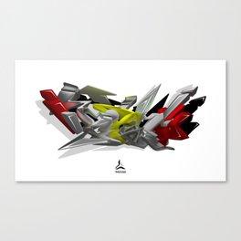 """HIP-HOP"" Canvas Print"