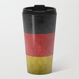 Vintage Grunge flag of Germany Travel Mug