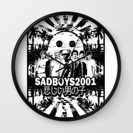 Yung Lean - Sad Boys Wall Clock
