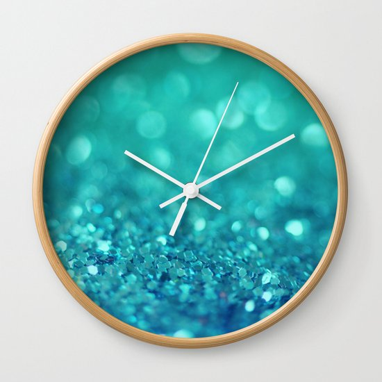 Bubble Party Wall Clock