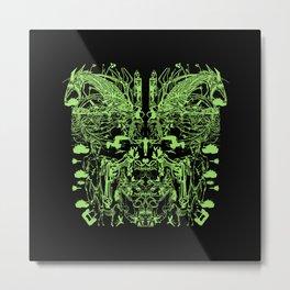 Mask (Shield) Metal Print