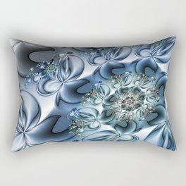 Dynamic Spiral, Abstract Fractal Art Rectangular Pillow
