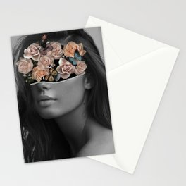Mystical nature's portrait II Stationery Cards