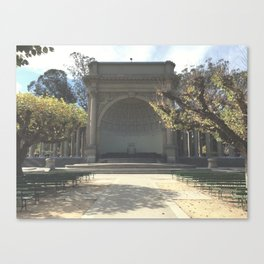 Temple Of Music // Golden Gate Park Canvas Print