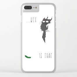 WTF is that!? Clear iPhone Case