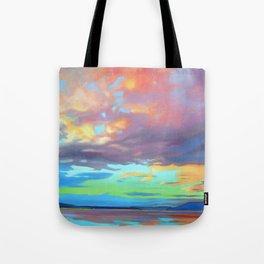 Sky Opus by Amanda Martinson Tote Bag