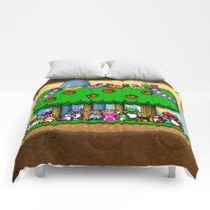 Super Mario World Happy Ending Comforters