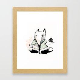 ga Framed Art Print