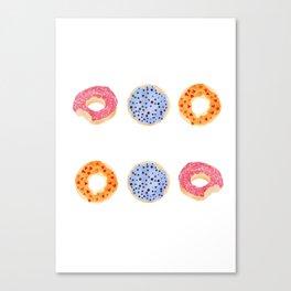 doughnut selection Canvas Print