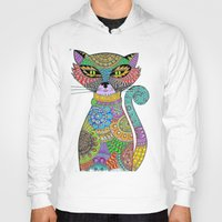paisley Hoodies featuring Paisley Pussy by SwanniePhotoArt