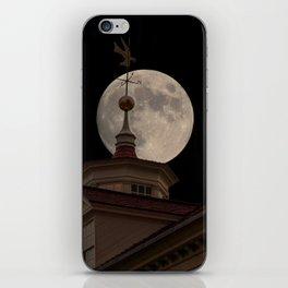 Moon Over Mount Vernon iPhone Skin