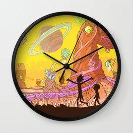 Ricks Multiverse Wall Clock