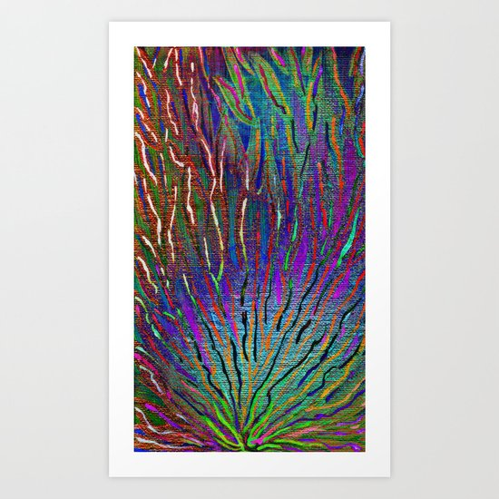 Paint the wall collection 5 Art Print