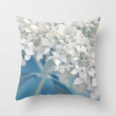 Beautiful White Hydrangea 276 Throw Pillow