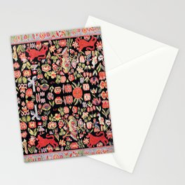 Täcke Antique Swedish Skåne Wedding Blanket Print Stationery Cards