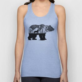THE BEAR AND THE WOLF Unisex Tank Top