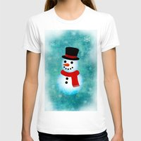 snowman T-shirts featuring snowman by vitamin