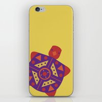 turtle iPhone & iPod Skins featuring Turtle by Claire Lordon