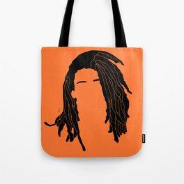 light orange Tote Bag