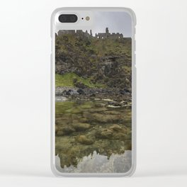 Dunluce Castle Clear iPhone Case