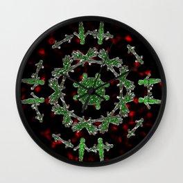 Extraterrestrial Mandala Wall Clock