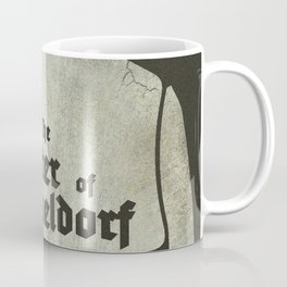 Fritz Lang, M The monster of Düsseldorf, Peter Lorre, minimalist movie, thriller, German film Coffee Mug