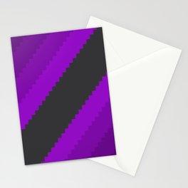 Pixel Grape Juice Dreams - Purple Stationery Cards
